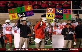 Football Sideline Play Cards Louisiana tech, Team