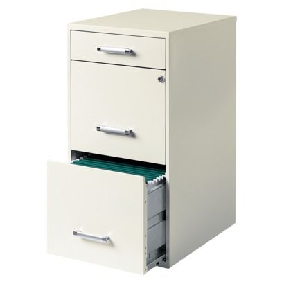Hirsh File Cabinet 3 Drawer Steel 39 99 Target Good Quality Reviews True White Not Off