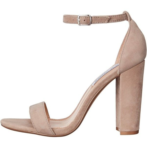011ffe40a82 Steve Madden Carrson (Taupe Suede) High Heels ($90) ❤ liked on ...