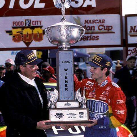 20 years ago today (April 2) Jeff Gordon picked up the first of 5 wins at Bristol.