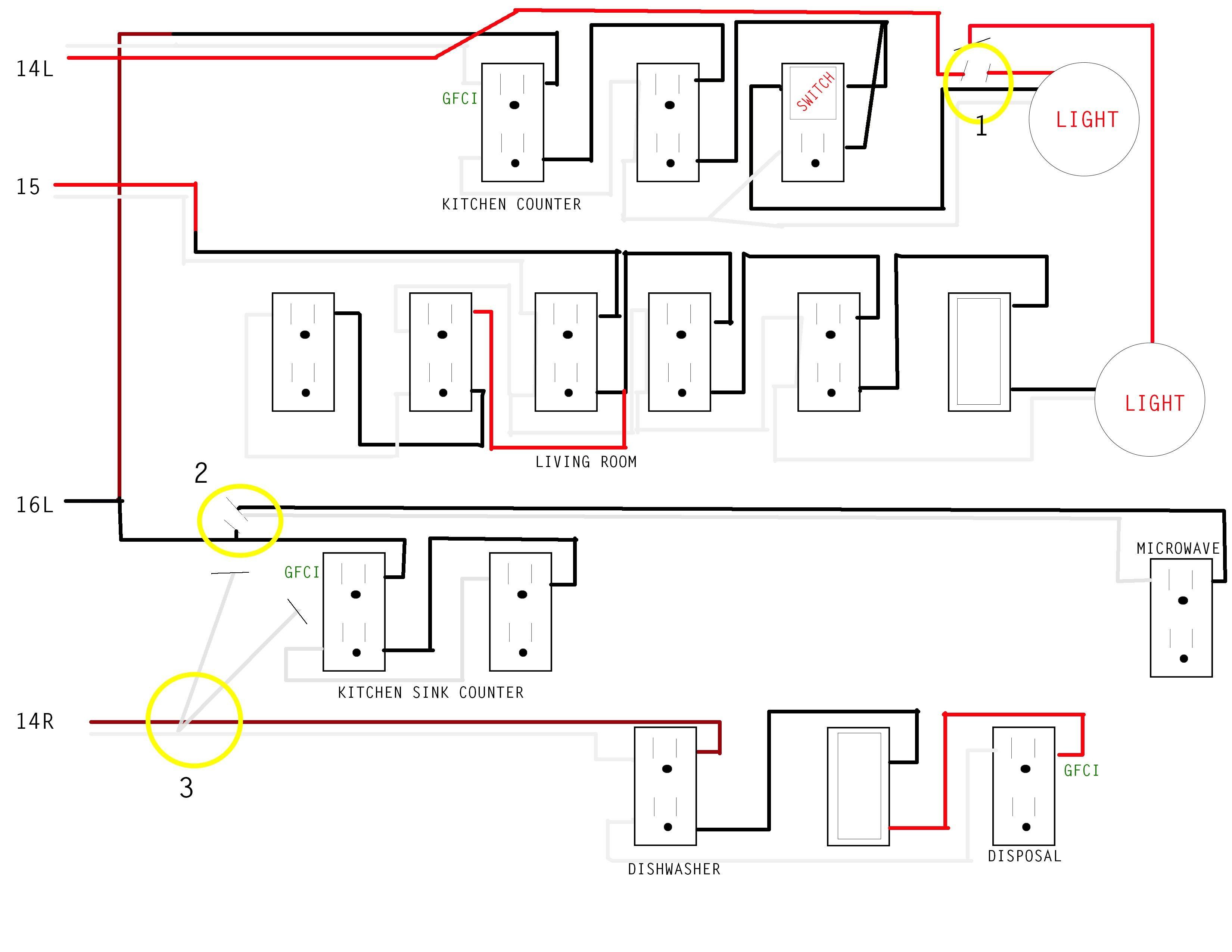 Unique Basic House Wiring Diagram Diagram Diagramsample Diagramtemplate Wiringdiagram Diagramchart Worksheet Worksheettemplate House Wiring Gfci Diagram
