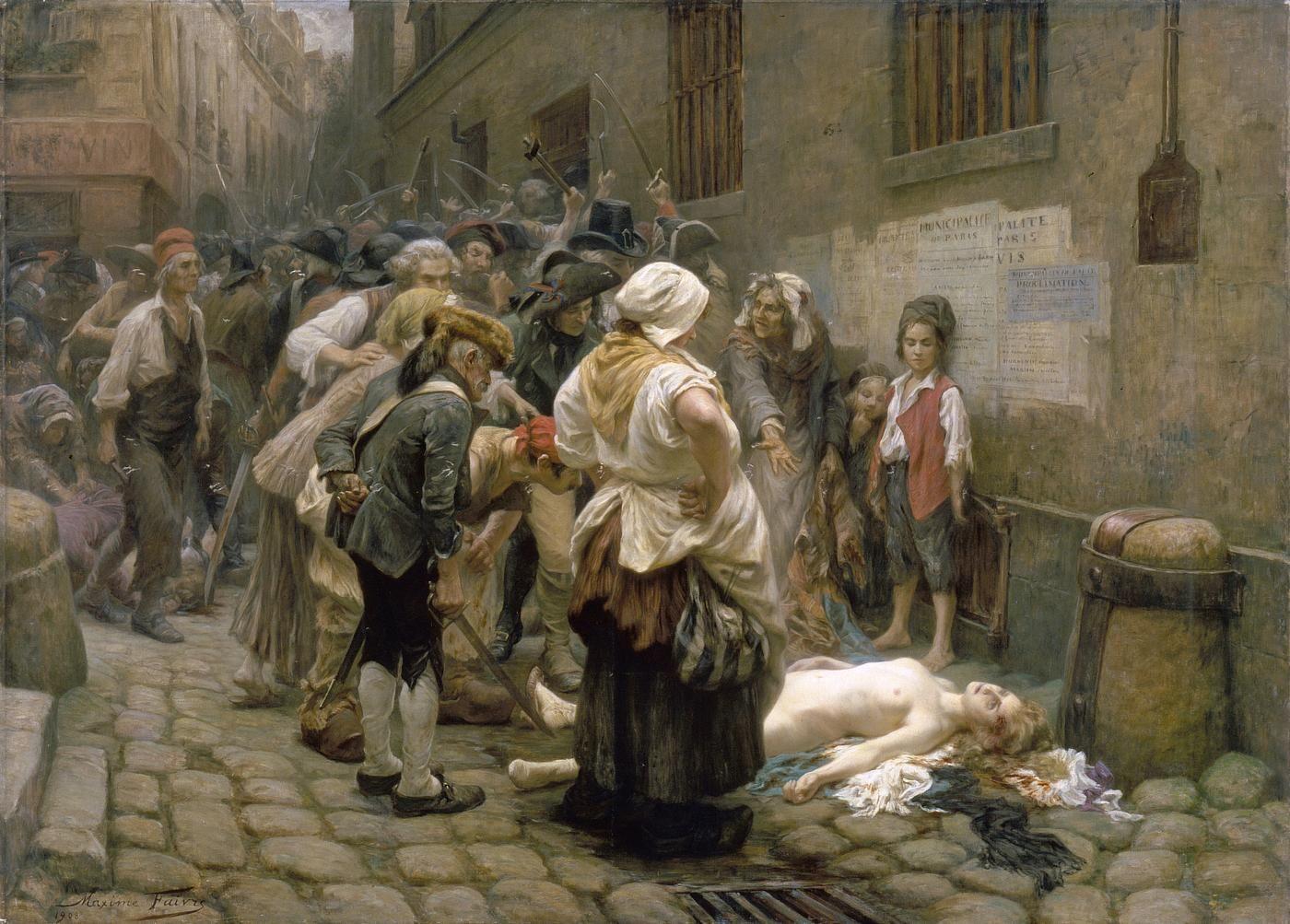 Les débuts de la Terreur (avec images) | Histoire de la peinture ...