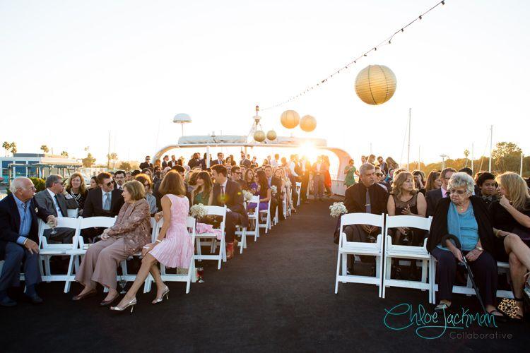 Zack And Lindsay S Nautical Venice Beach Wedding La By Matthew Fantasea Yachts Venue Ideas Yacht