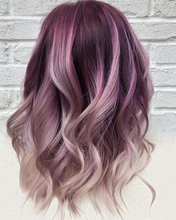 Pastel Purple Hair With Dark Roots Hair Color Purple Hair Color For Women