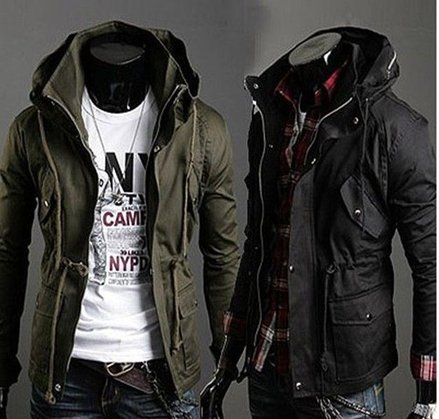 Fashion Slim Fit Casual Men s Jacket Mens Jacket | Gear - Men's ...