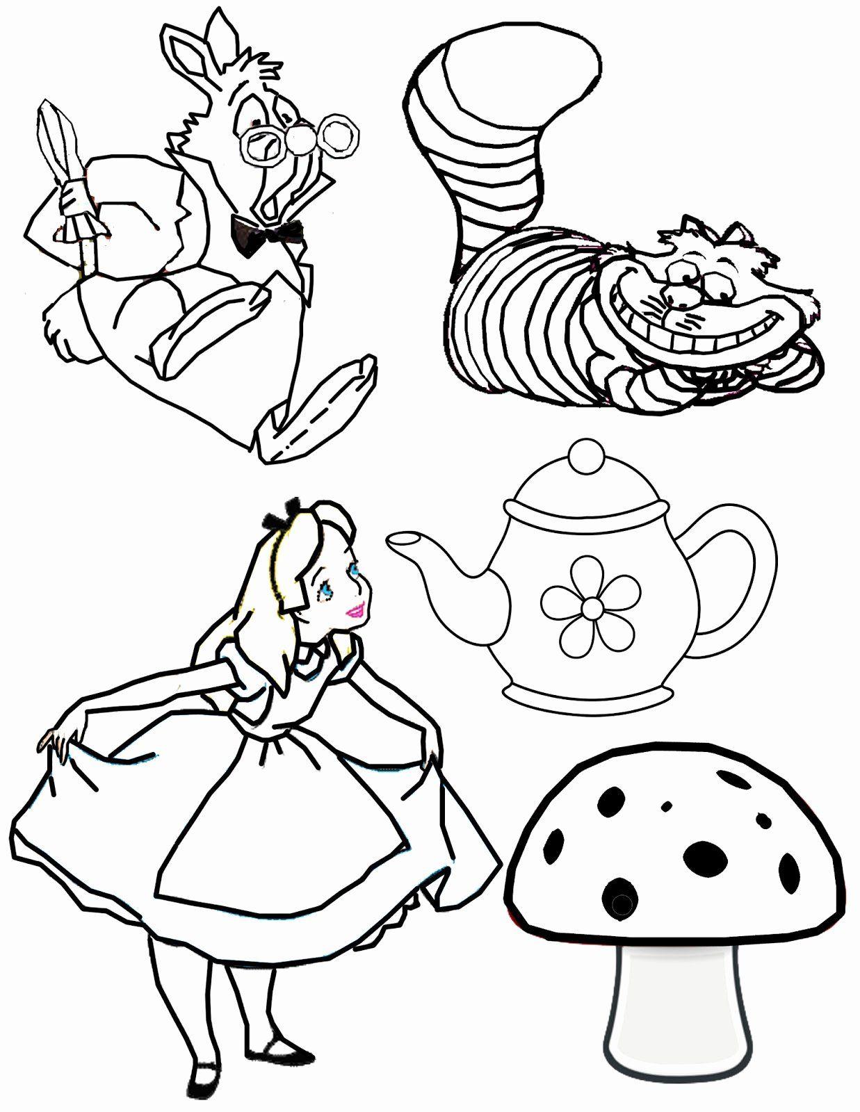 Nice Alice In The Wonderland Walking Man Coloring Page Dibujos Tutorial De Dibujo Dibujos Bonitos