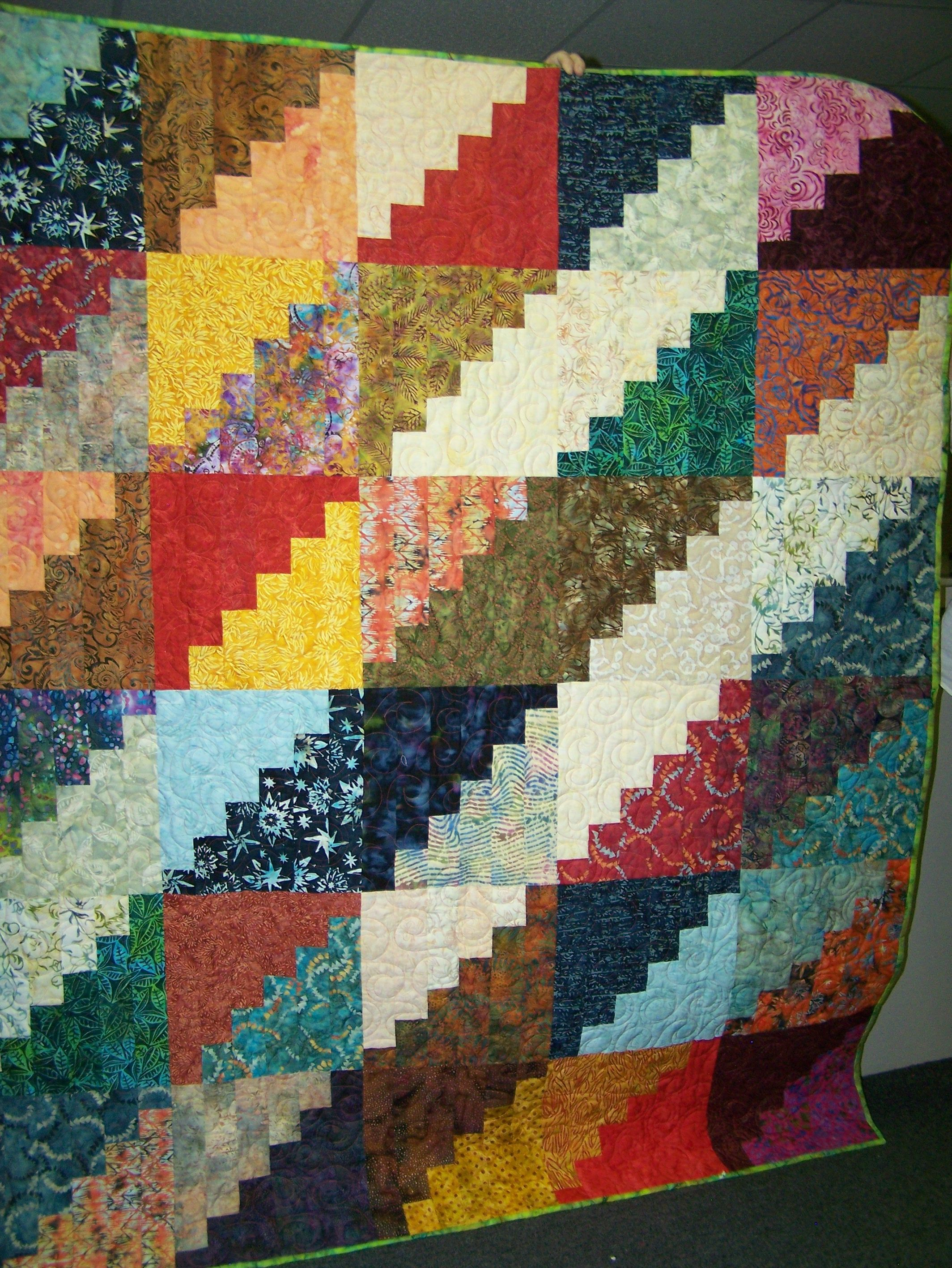 Checkbook Prize Quilt - Karen K