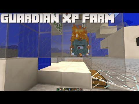Minecraft Guardian Xp Farm Minecraft Farm Guardian