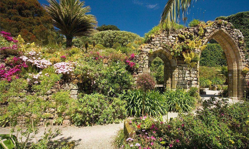tresco abbey gardens, isles of scilly