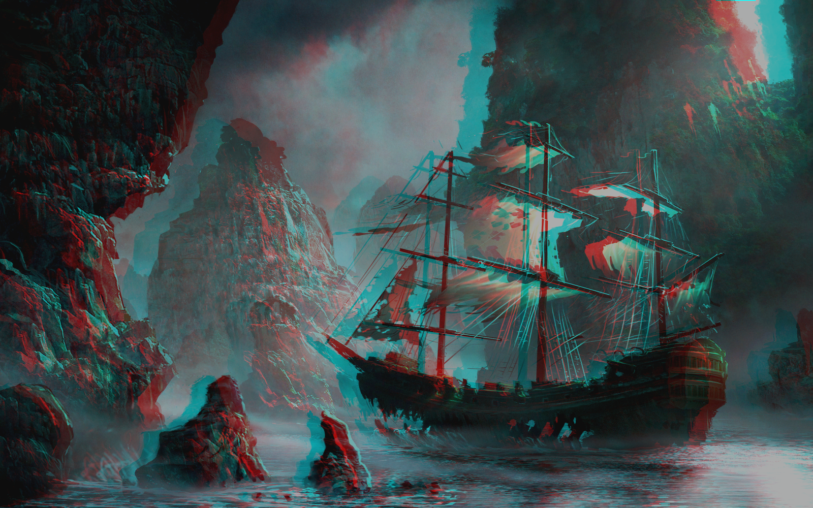 how to make anaglyph 3d glasses