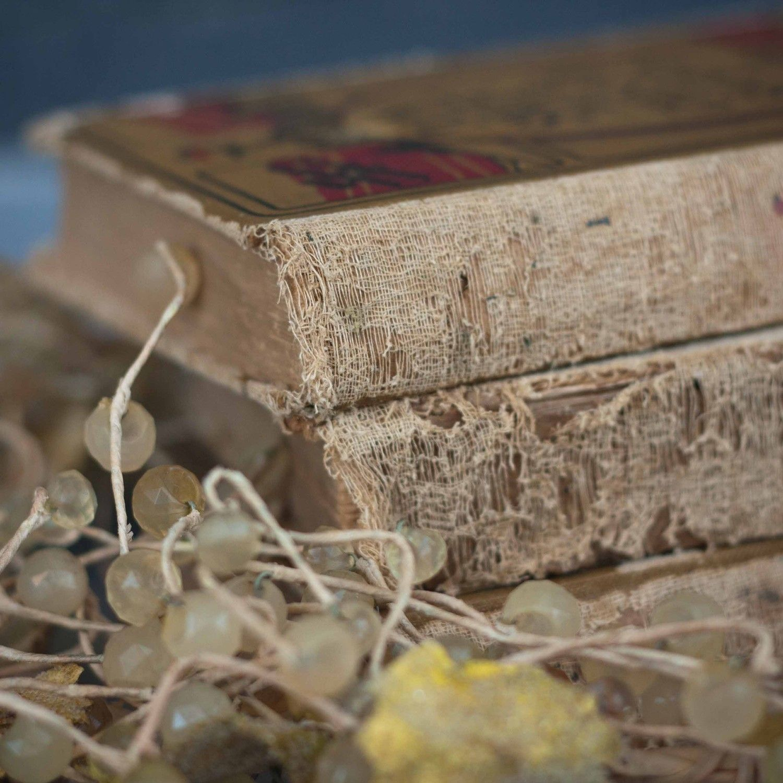 shabby chic tattered books by retroreading on etsy