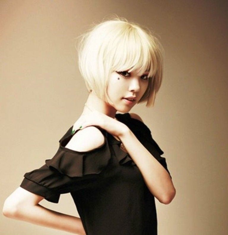 Asian bob hairstyle Pictures
