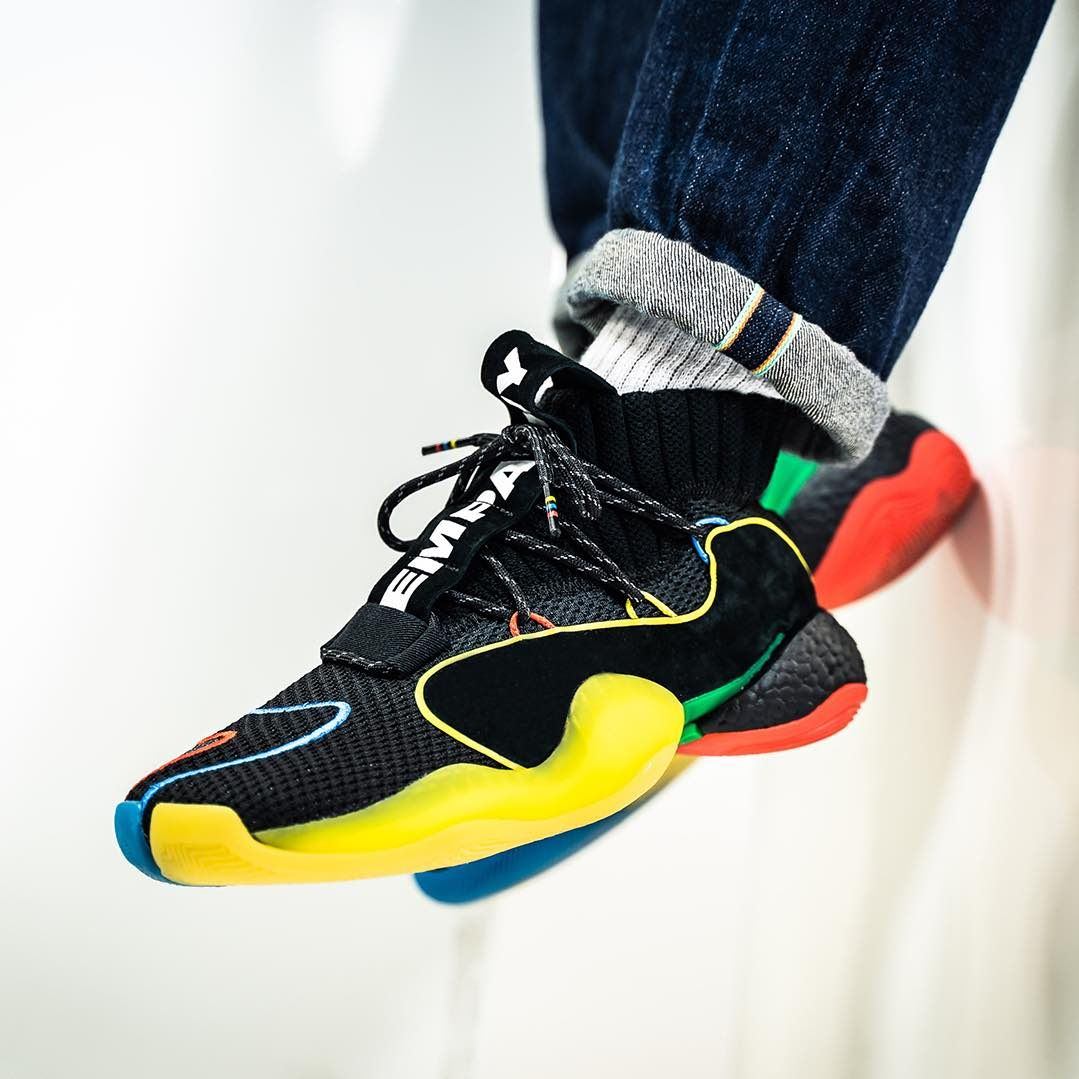 the best attitude 4f161 b14bf Release Date  December 22, 2018 Adidas x Pharrell Williams Crazy BYW LVL  Gratitude + Empathy Credit  43einhalb — adidas pharrell sneakerhead ...