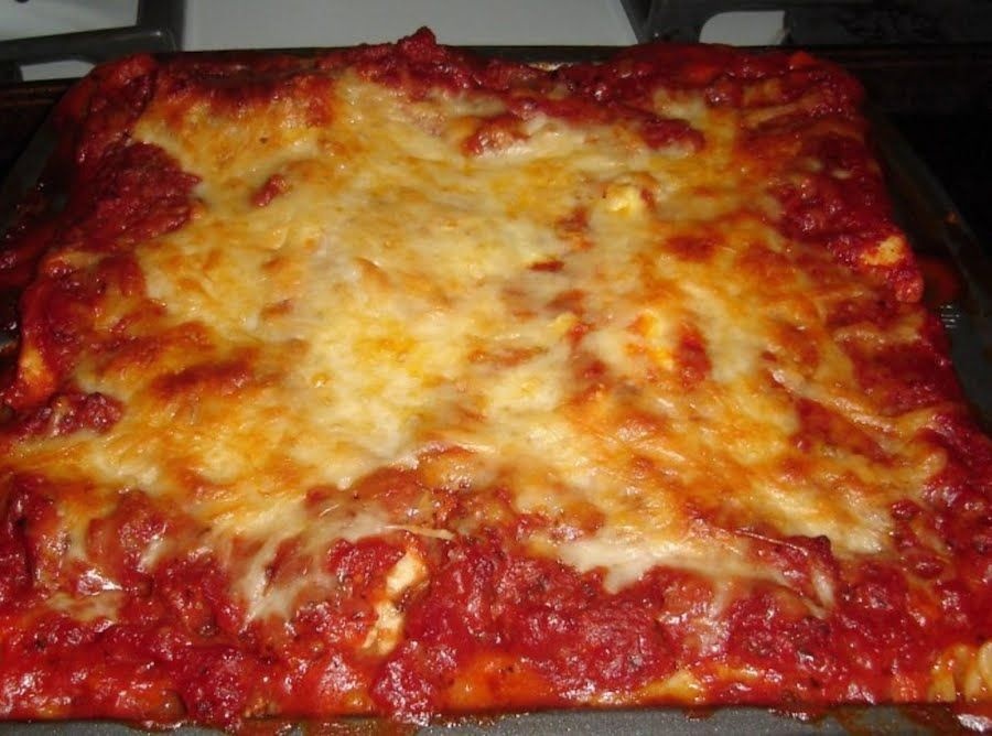 Hearty Lasagna for Two Hearty Lasagna for Two