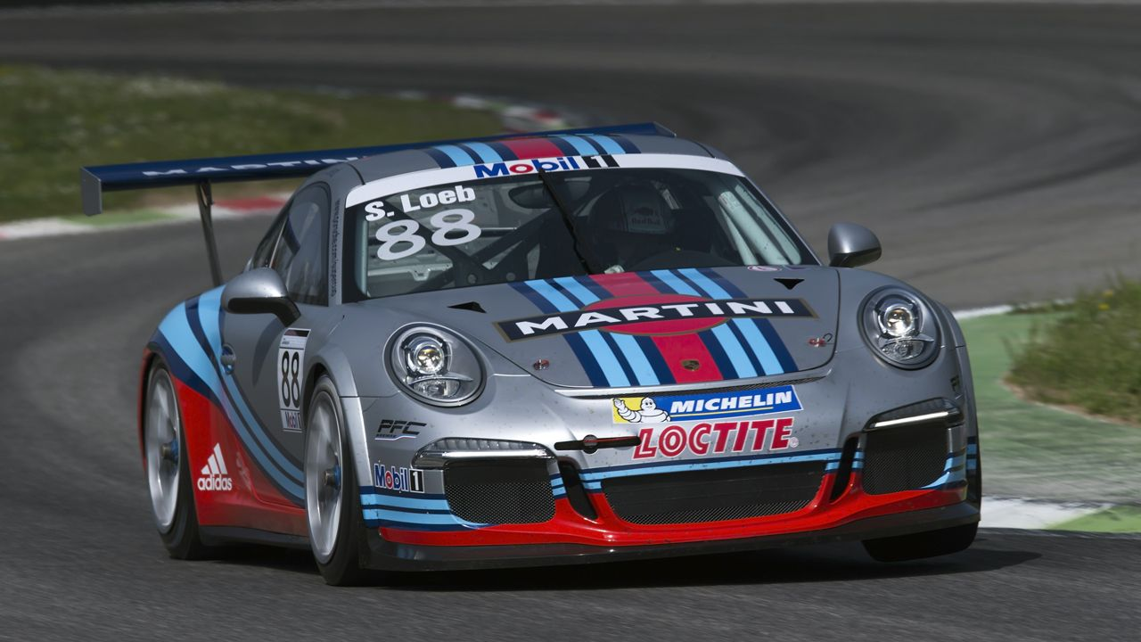martini racing reunites with porsche for gt3 supercup. Black Bedroom Furniture Sets. Home Design Ideas