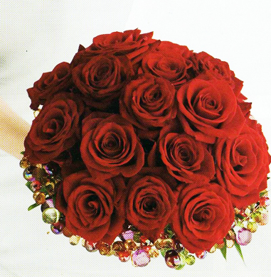 Love A Jewelled Collar Red Roses Wedding Bouquet Pic Png Red Rose Wedding Red Rose Bouquet Wedding Red Rose Bouquet