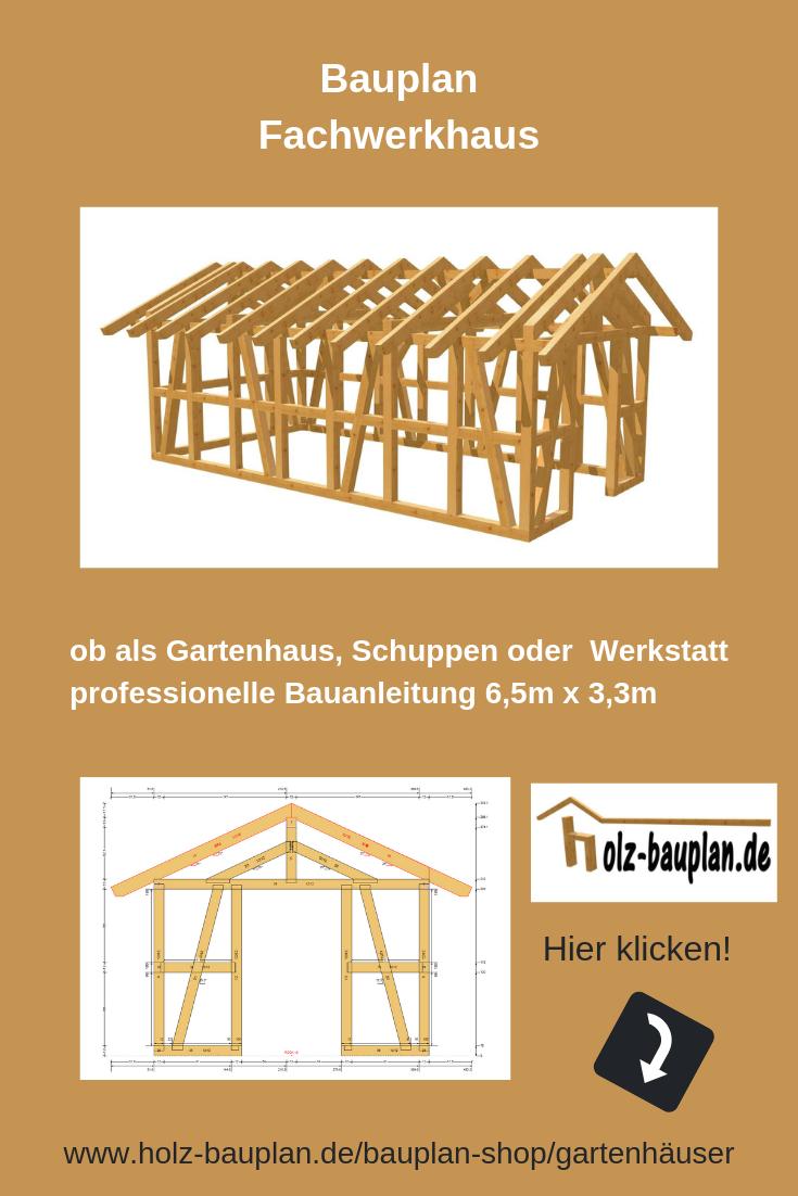 Fachwerkhaus Bauen Gartenhaus Planer Bauplan