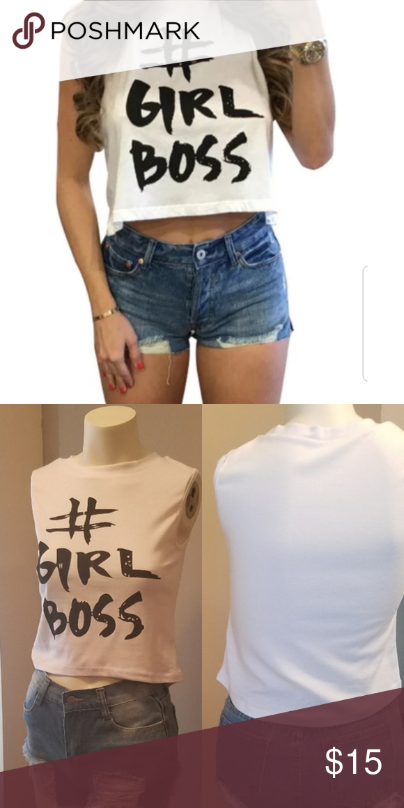 f9dfd14ea Crop Top Graphic Tee crop top Item is new bought from wholesaler but come  with my
