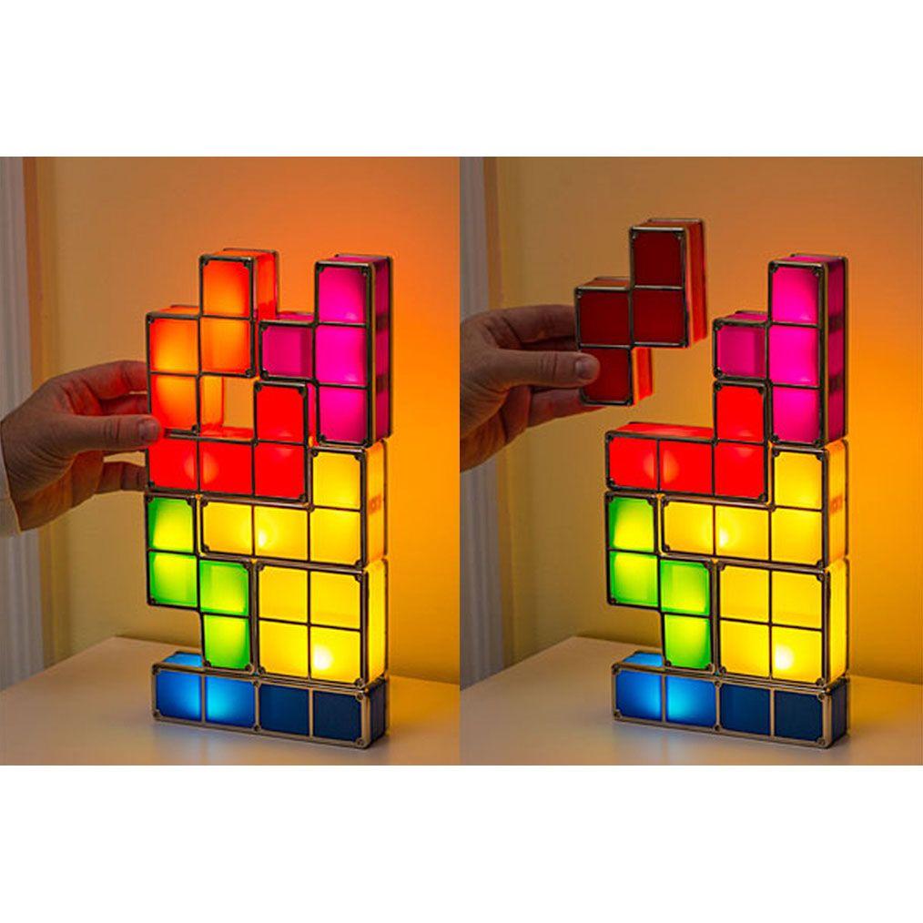 Delightful Tetris Stackable Led Desk Lamp