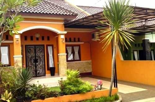 Warna Cat Depan Rumah Yang Bagus Warna Cat Rumah Rumah Minimalis