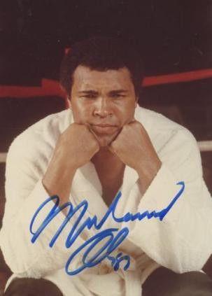 Muhammad Ali 8x10 Color Photo
