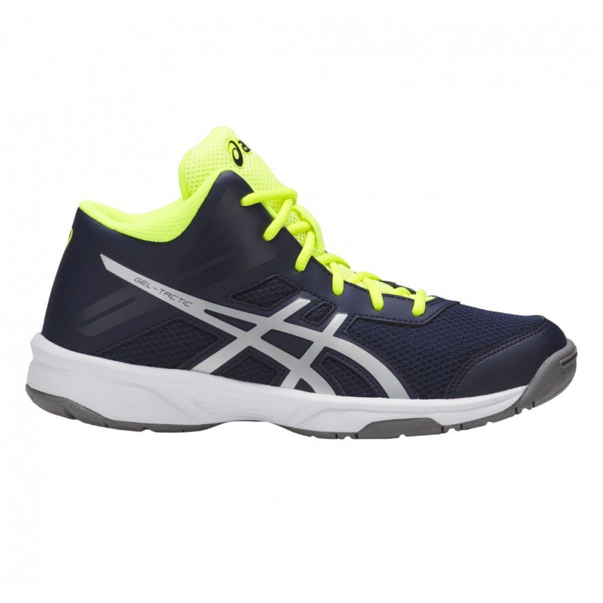 Volleyball Shoes Asics Gel Tactic Mt Gs Jr C732y 400 400 Navy Multicolored Volleyball Shoes Asics Asics Gel