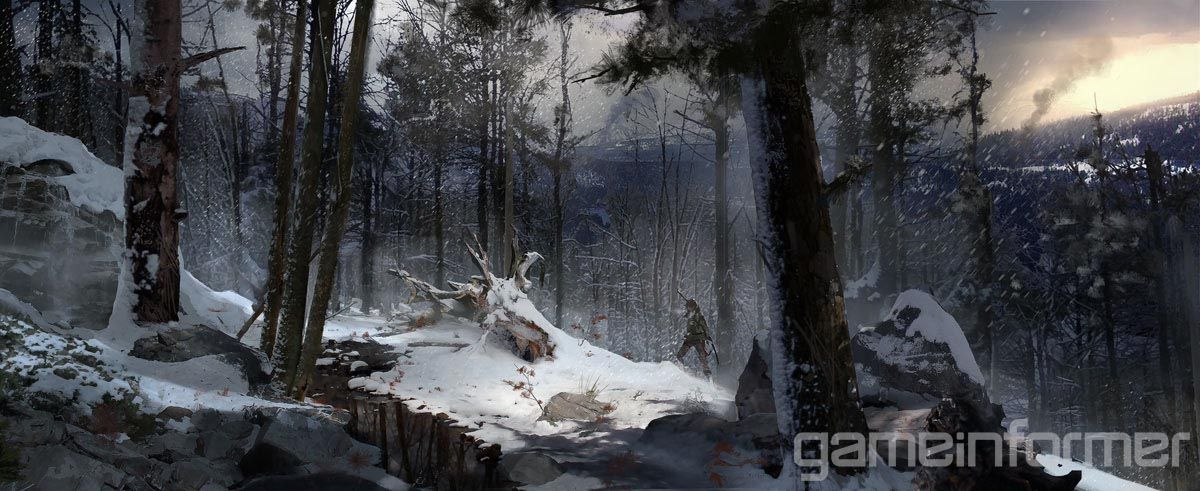 Ominous Beauty Exclusive Rise Of The Tomb Raider Concept Art