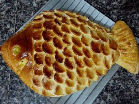 عشاء خفيف و سريع X2f فطيرة محشية على شكل سمكة مع طبخ ليلى Youtube Food Afternoon Tea Breakfast