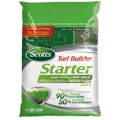 Scotts Fertilizer 03219 Turf Builder Starter Lawn Food For New