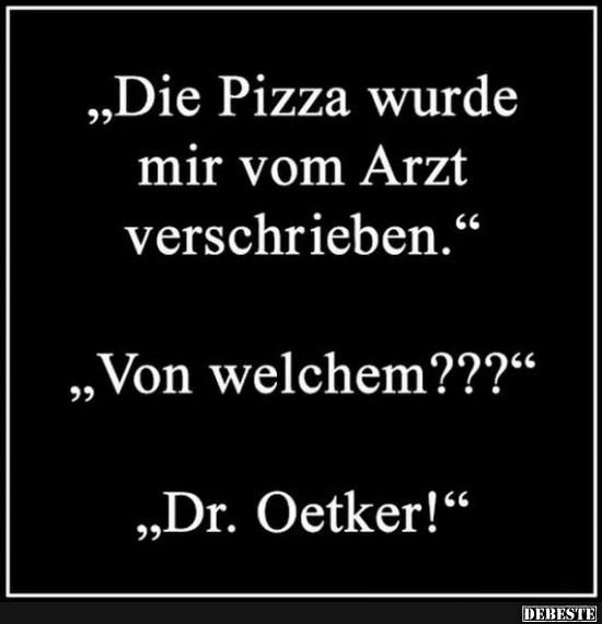 Witze pizza Pizzawitze