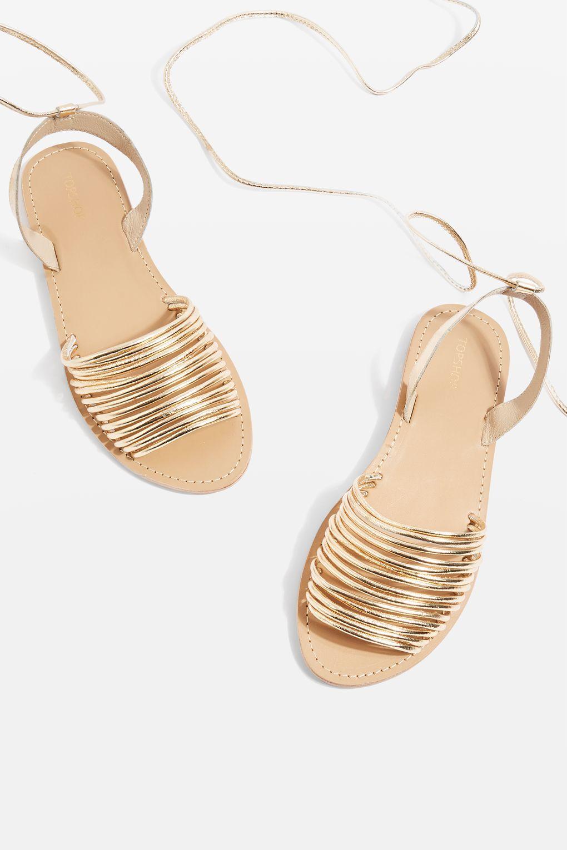 c732d15630e Ankle Tie Sandals - Topshop USA