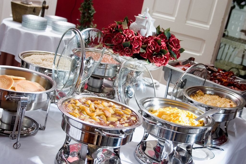 We offers catering services for wedding party, event