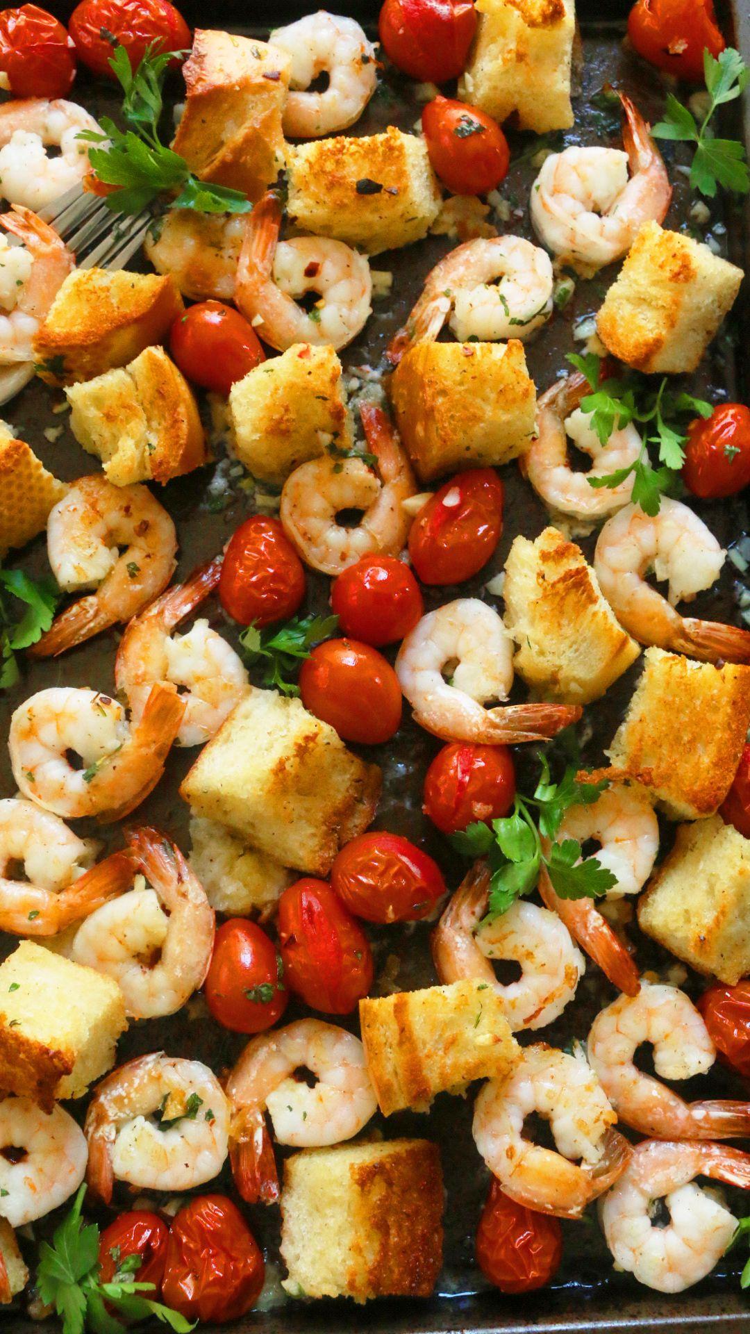 Quick and Simple Weeknight Meals   MyRecipes   Breaded Shrimp Dinner Ideas