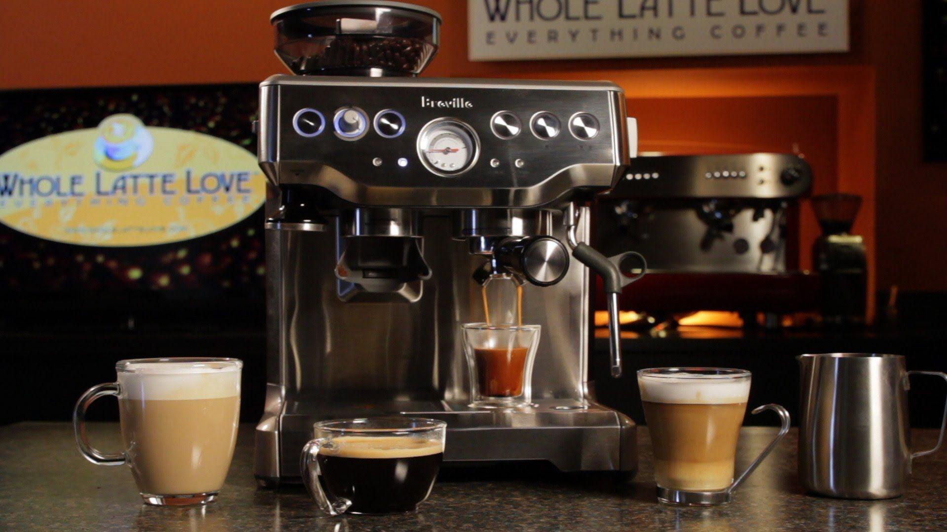 Breville barista express bes870xl semiautomatic espresso