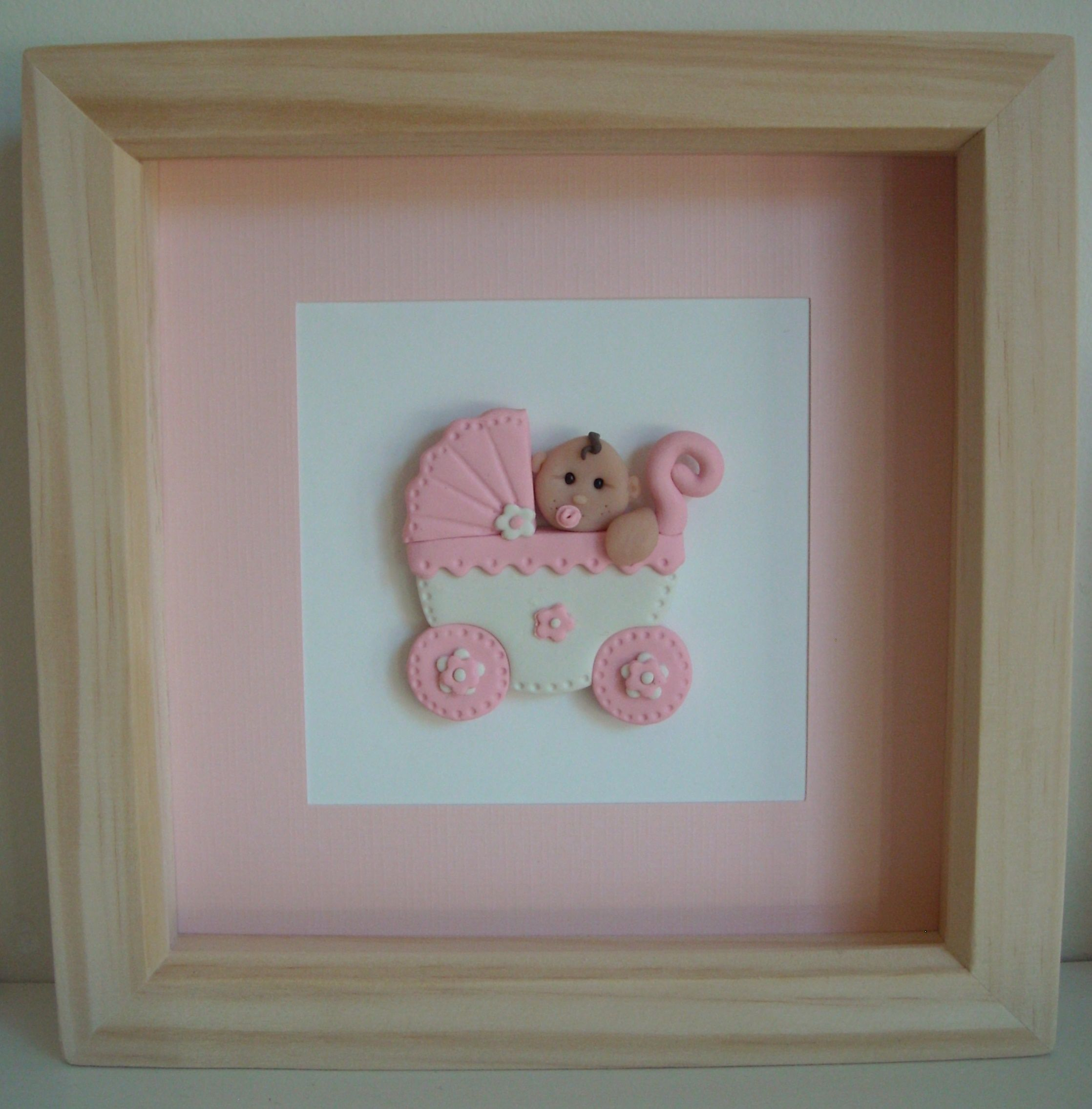 Fimo 3d ballerina in a box picture frame fimo pinterest fimo 3d new baby picture in a box picture frame jeuxipadfo Images