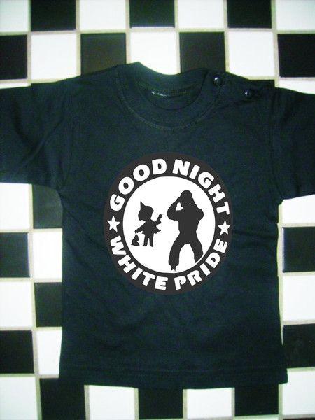 Good Night White Pride   Kleine Leute   Mens tops, Good