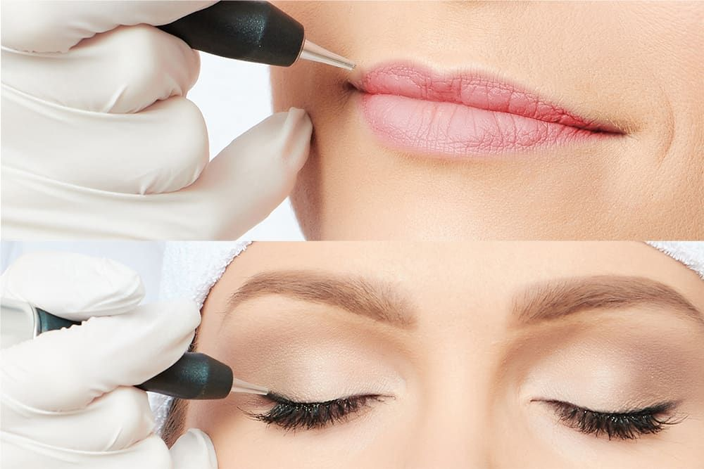 New permanent makeup learners and experienced permanent