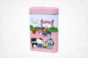 Sanrio Friends Small Gift Bandages in Metal Case     shop.sanrio.com