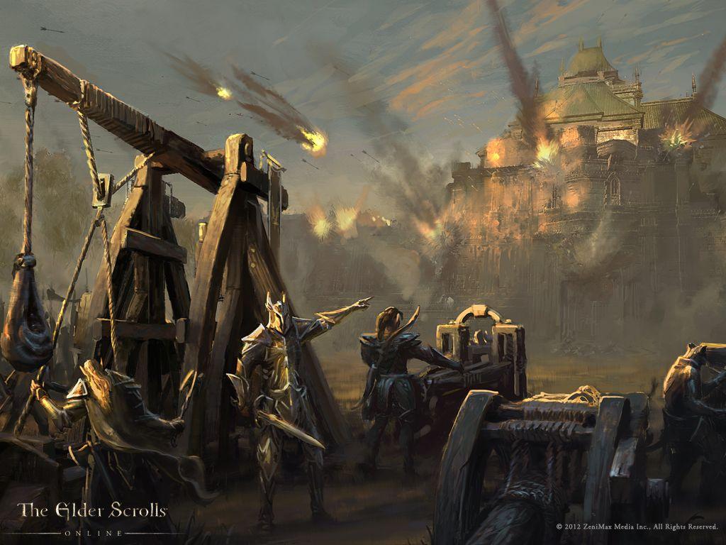 Cyrodiil Under Siege In New Elder Scrolls Online Wallpaper  Elder Scrolls  Stuff  Pinterest  Posts, Elder Scrolls And Skyrim