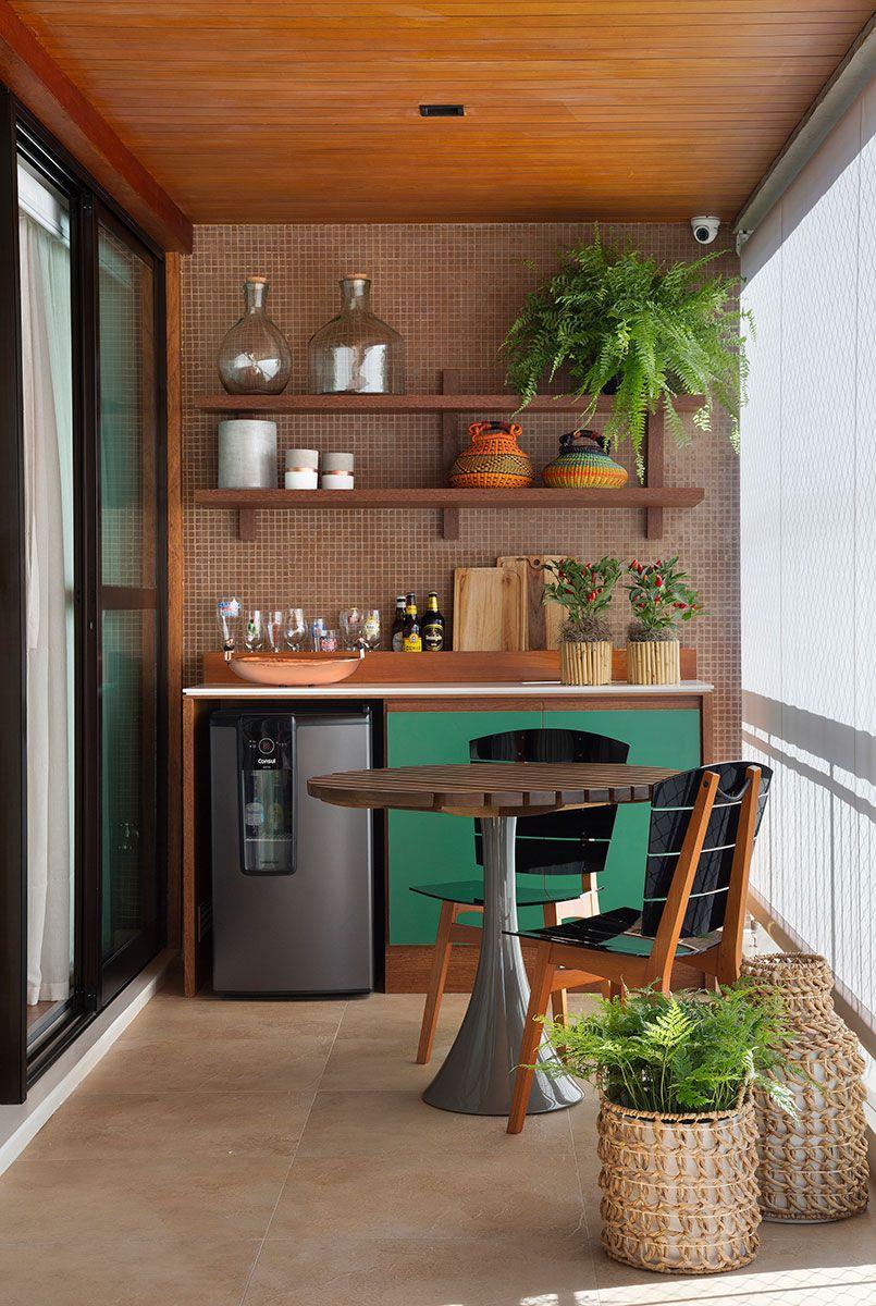 Funcionalidade E Charme Varandas Gourmet Apartamento Bar Em
