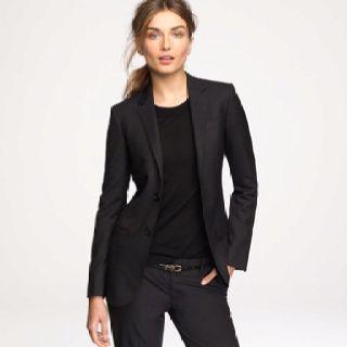 Tailored Black Suit....Essential Piece.