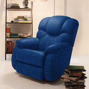 Pleasant Winston La Z Boy Recliner Cobalt Fabric Recliner Evergreenethics Interior Chair Design Evergreenethicsorg