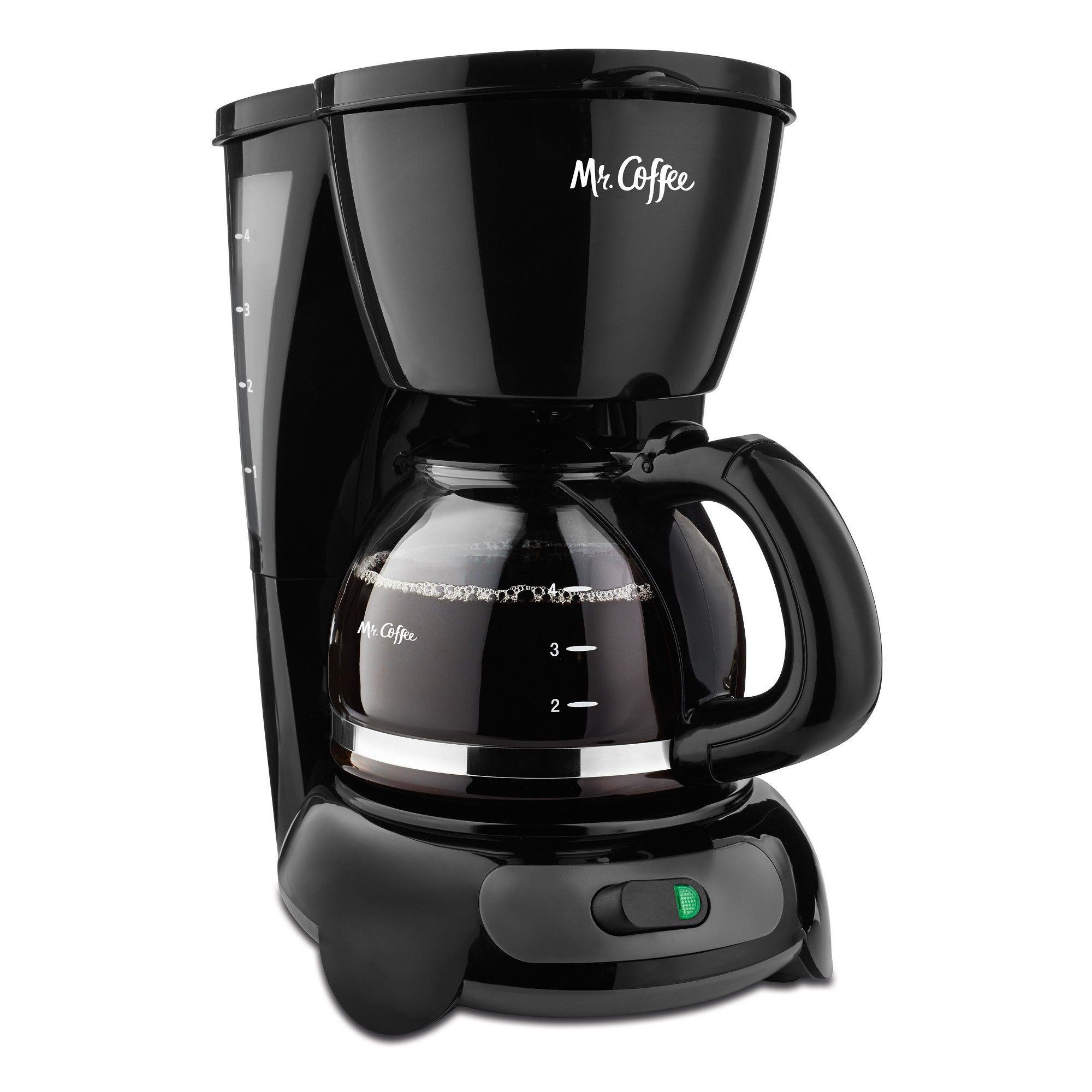 Mr. Coffee 4 Cup Switch Coffee Maker Black in 2020