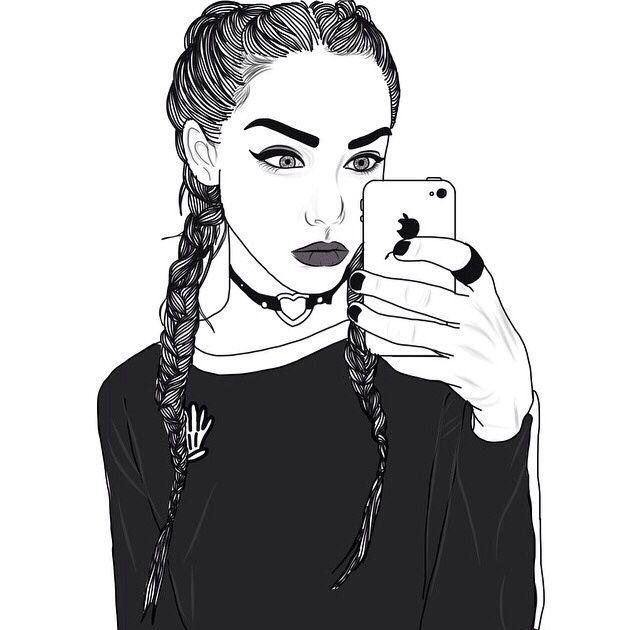 Imagini pentru drawing tumblr girl | Art inspiration | Pinterest ...