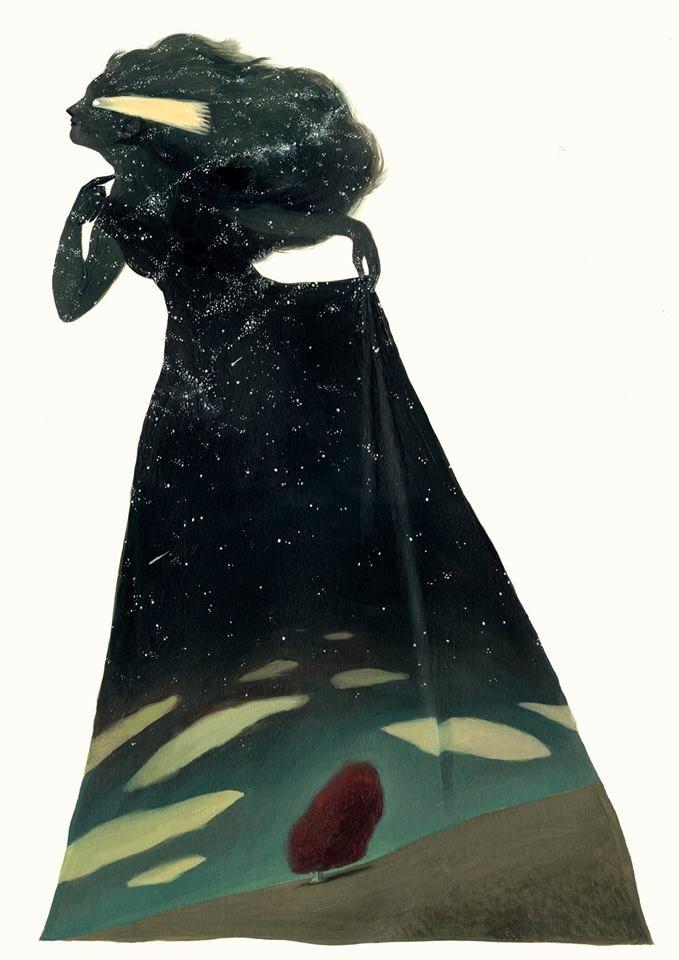 Secreto de árbol - Ilustración de David de Las Heras