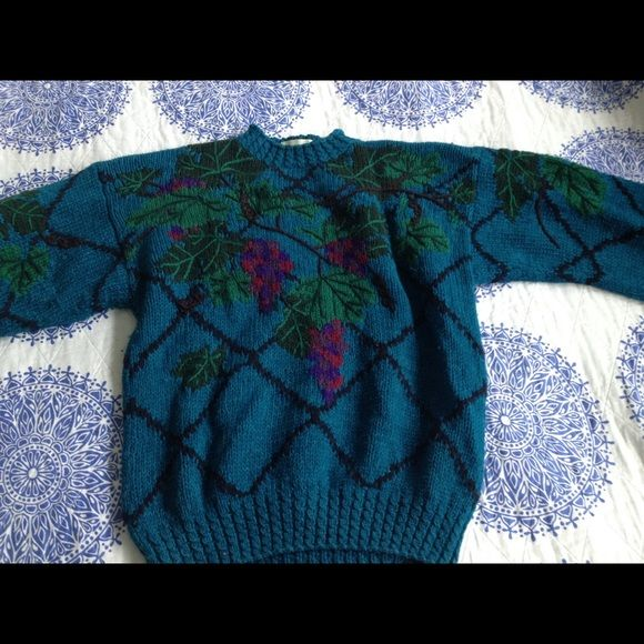Henri Bendel jewel toned patterned sweater Henri Bendel jewel toned patterned sweater henri bendel Sweaters