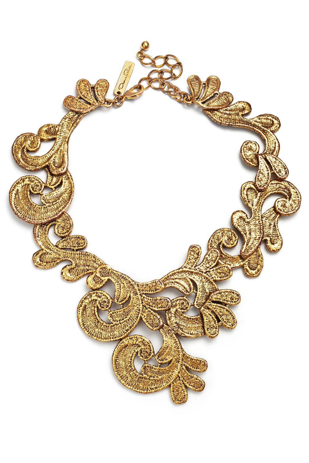 Rent French Quarter Jazz Necklace by Oscar de la Renta for $85 only at Rent the Runway.