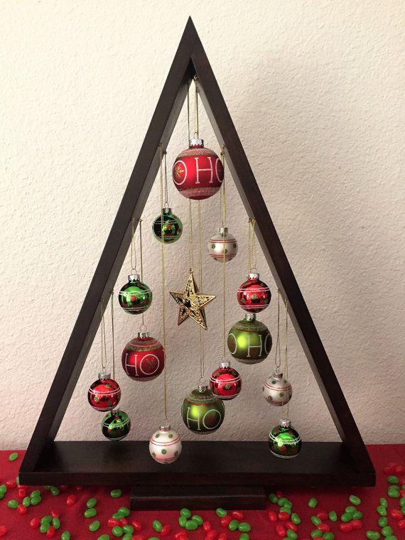 Houten kerstboom, Ornament Christmas Tree, Christmas Center stuk