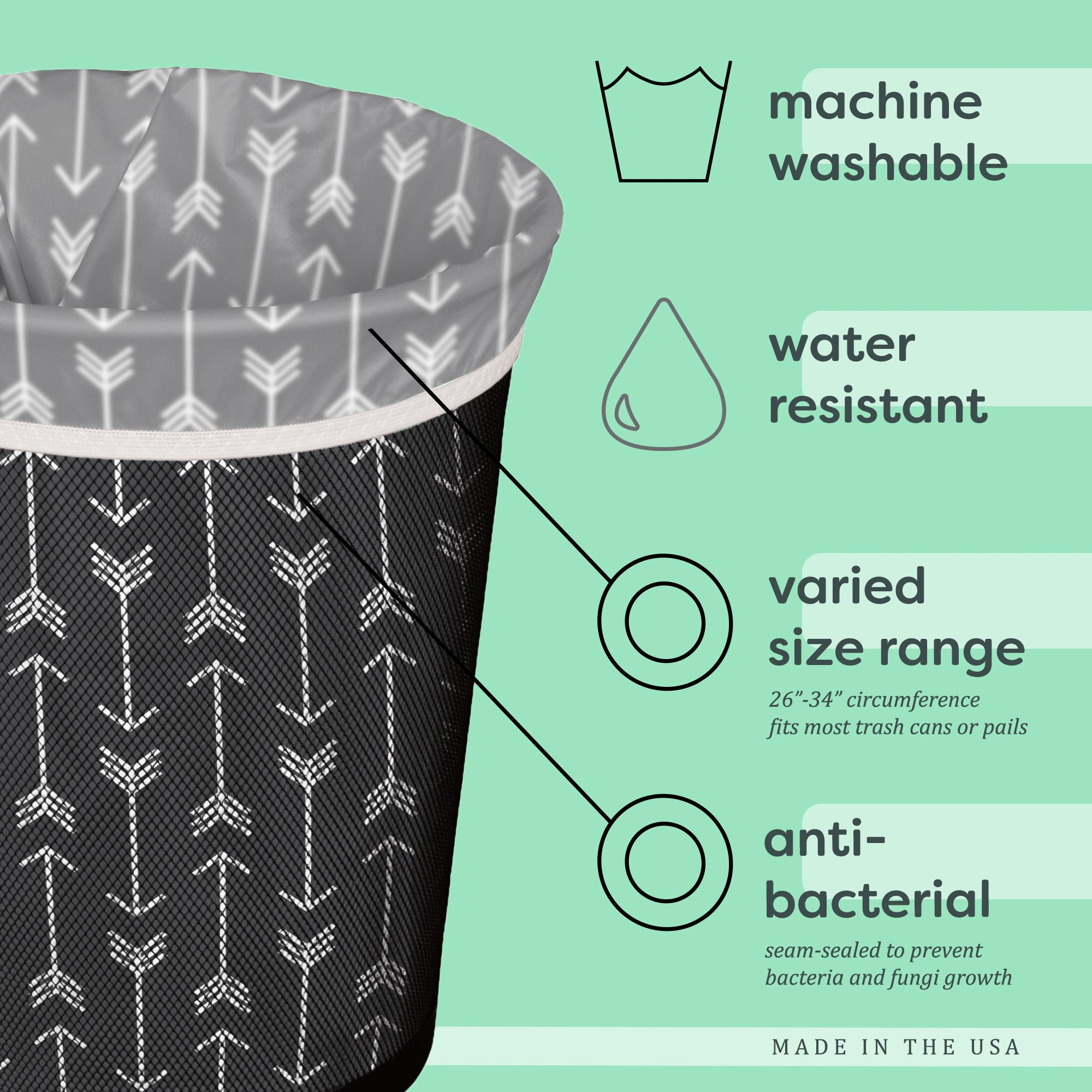 Reusable Trash Bag Save Your Planet Pinterest