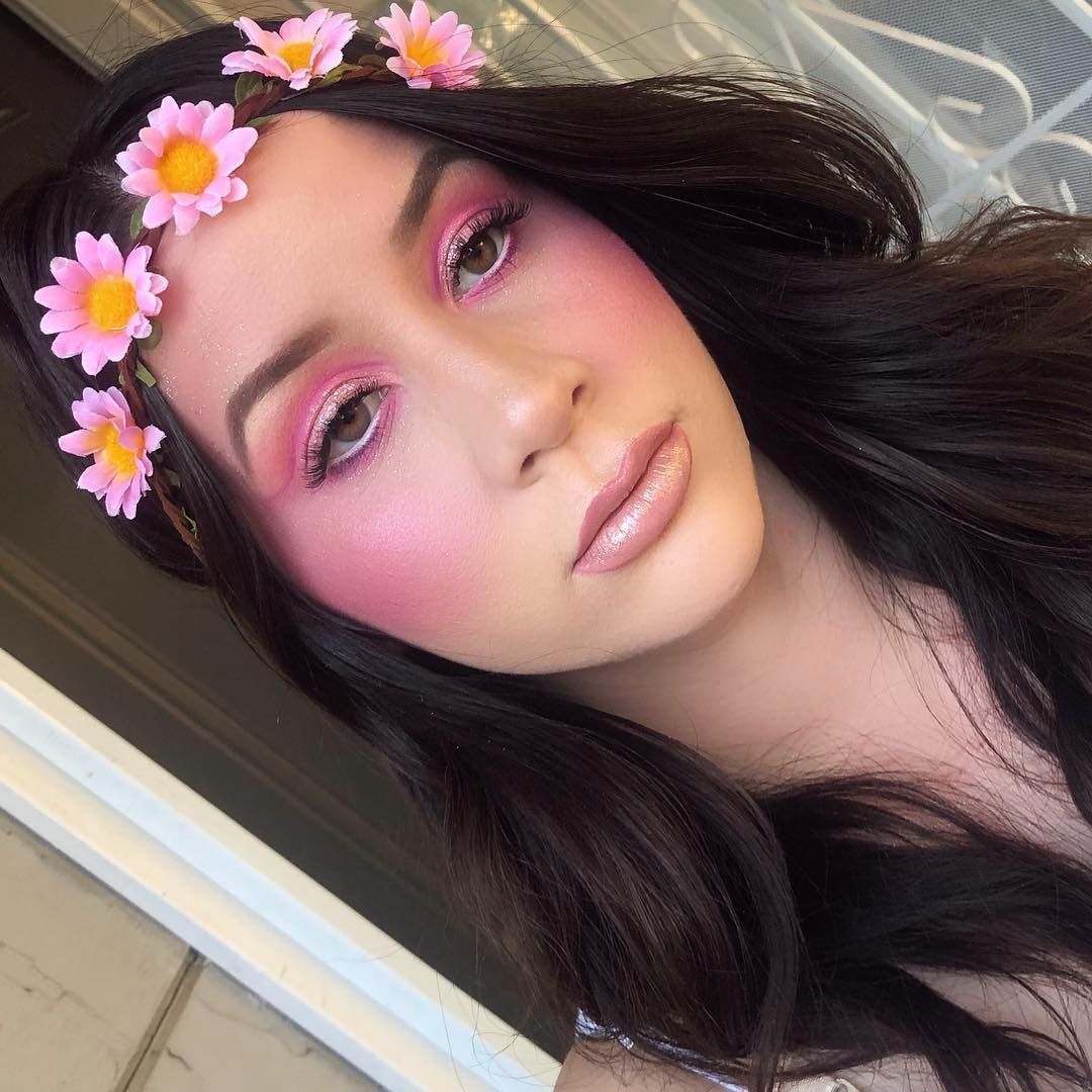 ofracosmetics crazy pink blush & cloud nine highlighter
